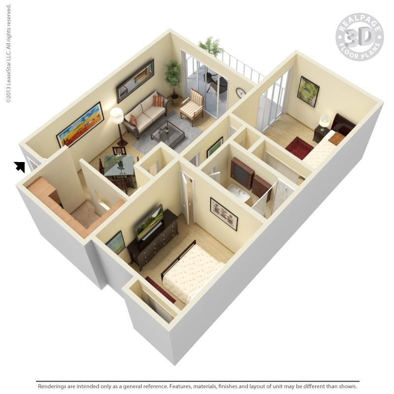 $994 Two bedroom Apartment for rent