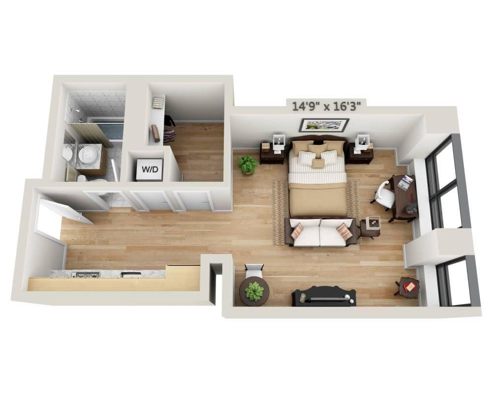 $3345 Studio Apartment for rent