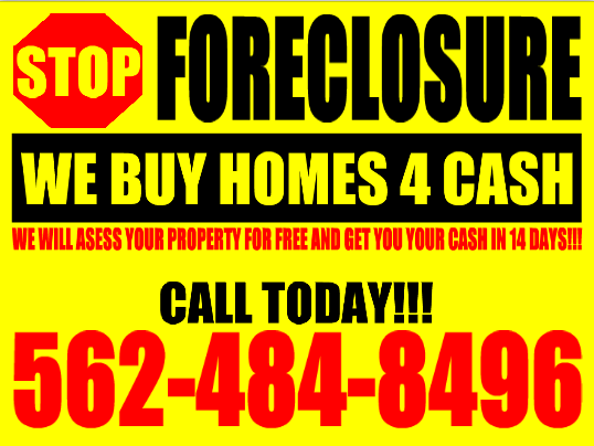 CASH FOR YOUR HOME!!!