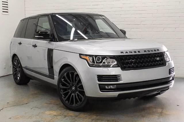 Land Rover Range Rover V8 Supercharged 2017