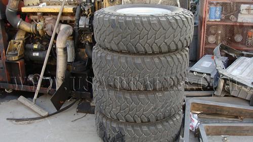 4 KENDA 31X10.50R15 L.T TIRES AND RIM