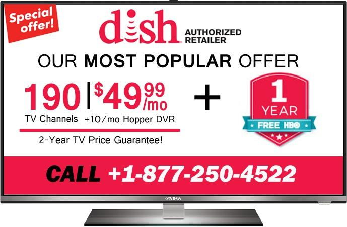 Dish Network New Customer HD For Life Offer +1(877) 250-4522