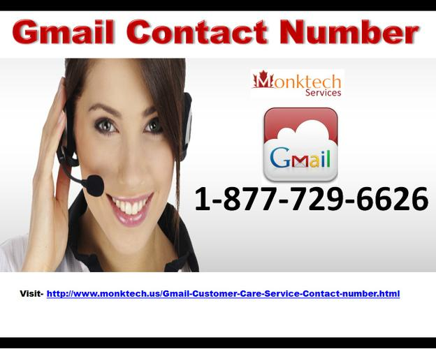 What to Do With Gmail Contact Number 1-877-729-6626 (toll-free)