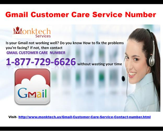 Just 24*7 Call On Gmail Customer Care Service Number 1-877-729-6626 (toll-free)