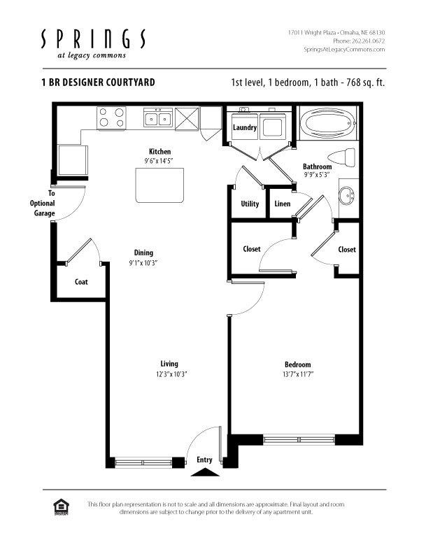 $1026 One bedroom Apartment for rent
