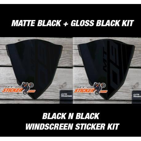 Yamaha FZ09 side cover scoop air sticker (GENERATION)