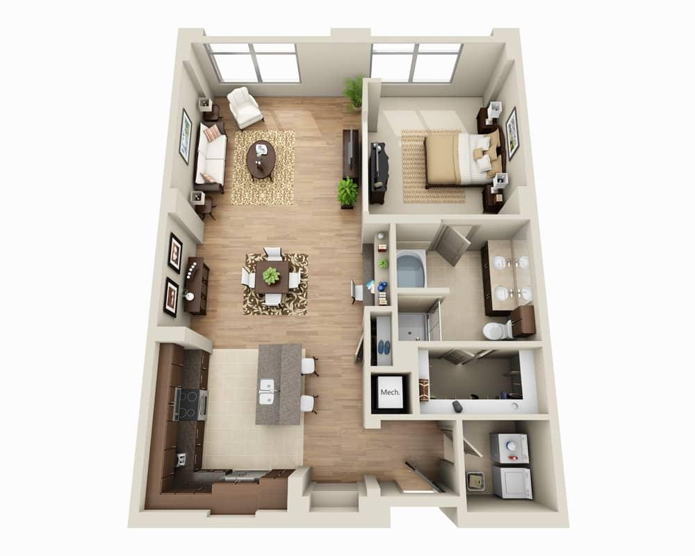 $2263 One bedroom Apartment for rent