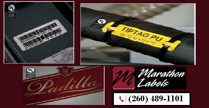 UL Certified Labels with High Quality only at Marathon-Labels