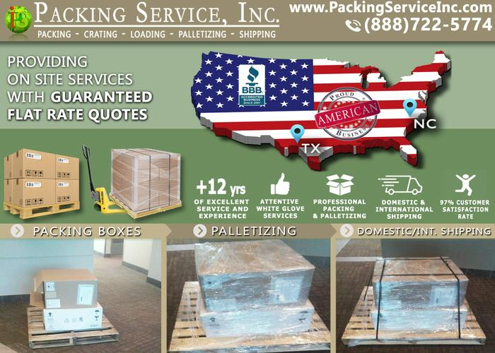 Packing Services, Moving Service, Pack Crate & Ship Service, Custom Wooden Crates,  Shrink Wrap