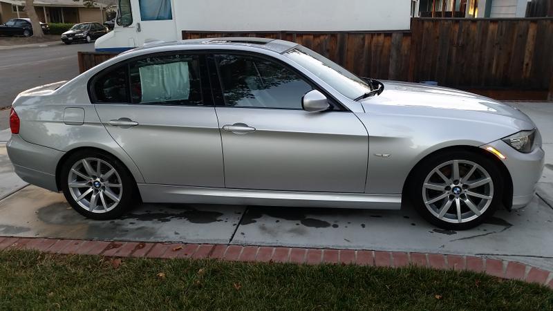 2010 BMW 328i Silver