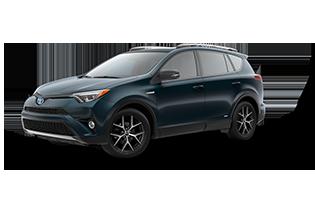 Toyota RAV4 SE Hybrid 2018