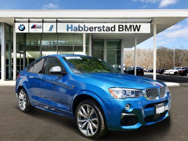 BMW X4 M40i Sports Activity Coupe 2018