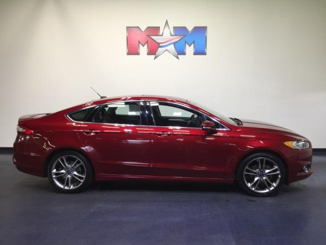 Ford Fusion 4dr Sdn Titanium FWD 2013