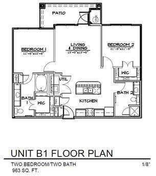 $1320 Two bedroom Apartment for rent