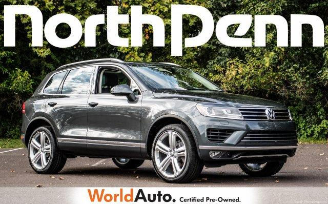 Volkswagen Touareg Executive 2016