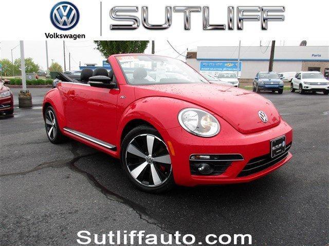 Volkswagen Beetle Convertible 2.0T R-Line 2014