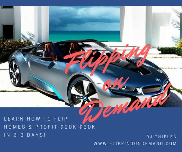 Learn How To Flip Properties And Make $10k-$30k in 2-3 Days!