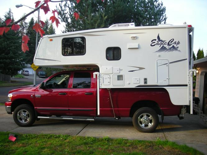 Eagle Cap Truck Campers  More Rugged And Beautiful -- SCATT Recreation