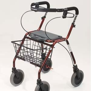 Walker that Glides! New w/Basket and Seat by Dolomite