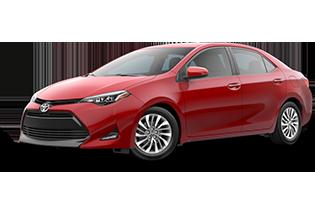 Toyota Corolla XLE 2017