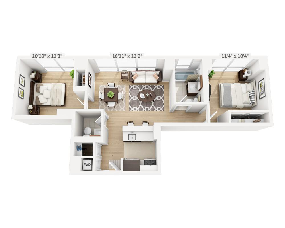 $5085 Two bedroom Apartment for rent