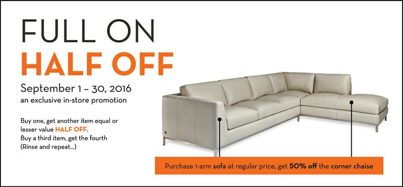 Half Off Sale on High End Contemporary Furniture!