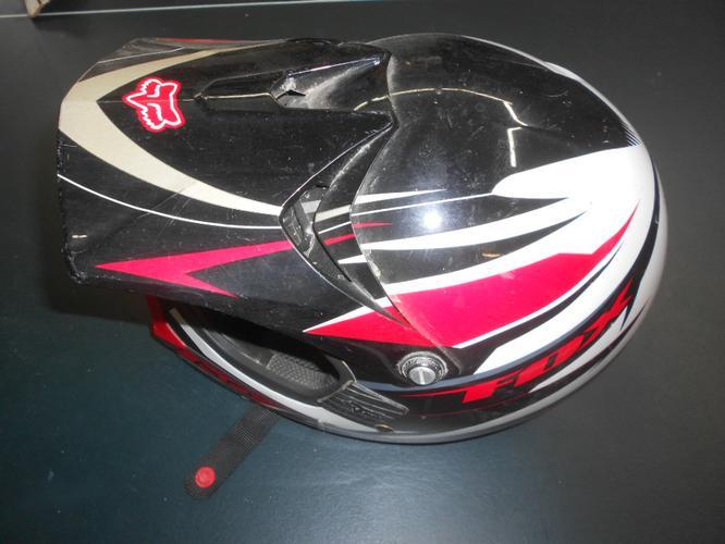 Kids Fox Motorcycle Riding Helmet - XS