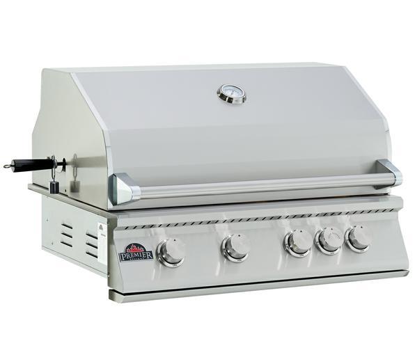 "32"" Premier Built-in Barbeque 304-Stainless Steel BBQ Up To 50% Off"