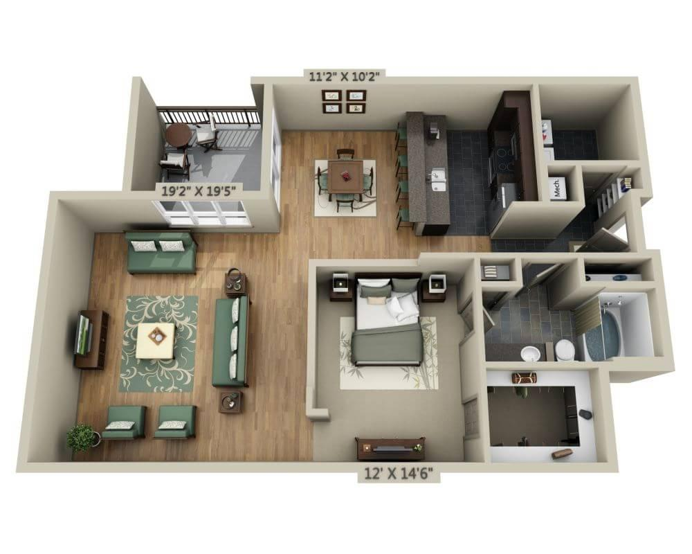 $1477 One bedroom Apartment for rent
