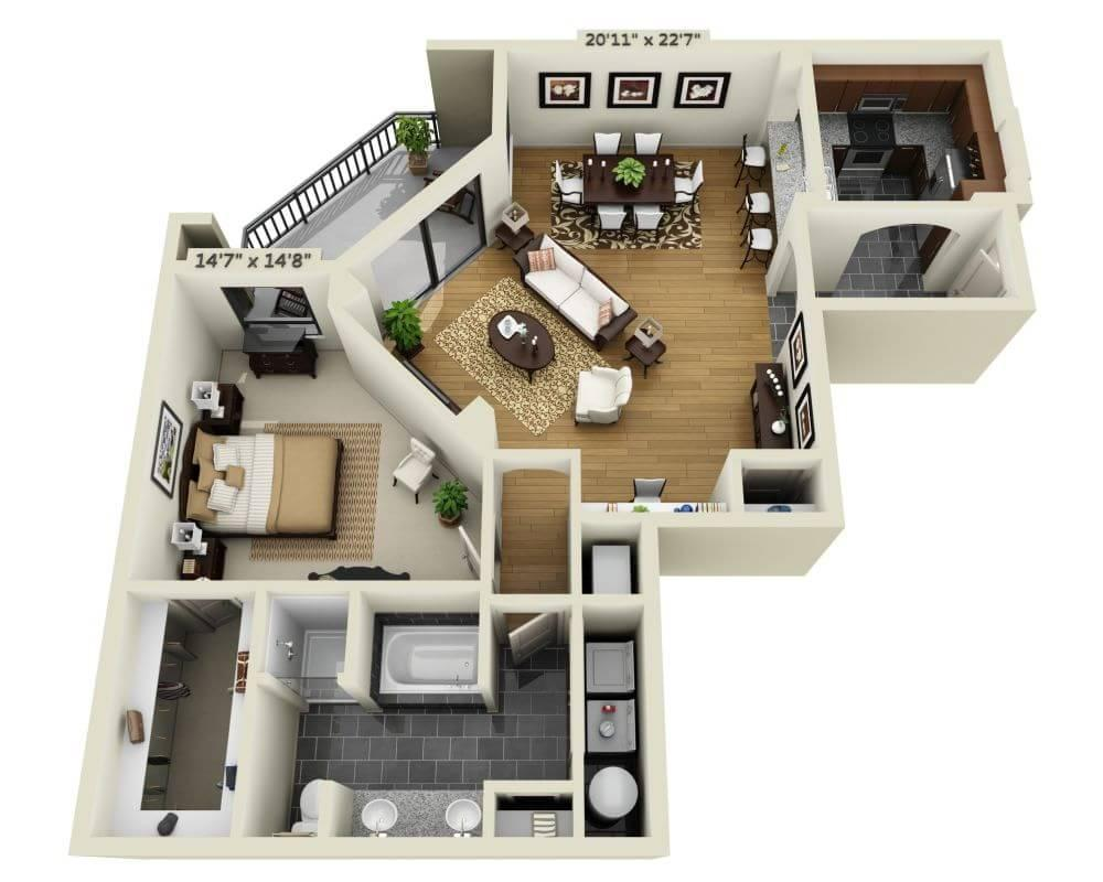 $2002 One bedroom Apartment for rent