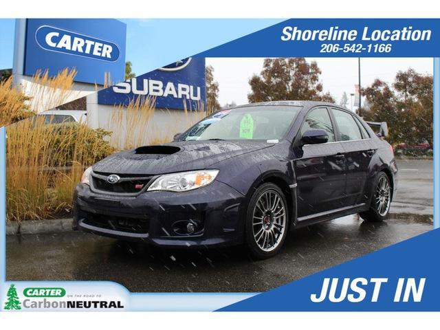 Subaru Impreza Sedan WRX WRX STI Limited 2014
