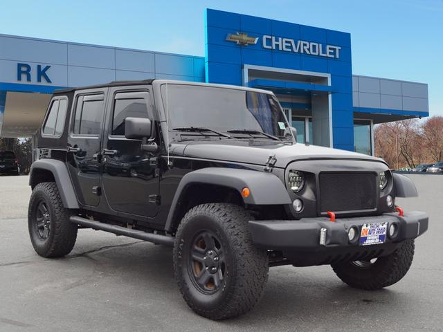 Jeep Wrangler Unlimited Sport 2014