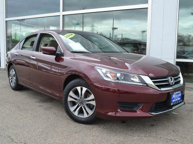 Honda Accord Sdn LX 2014