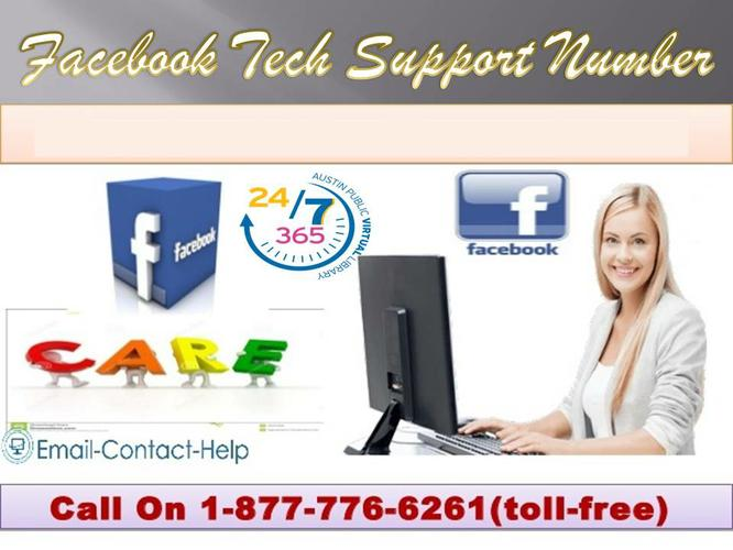 Call Facebook Tech Support Number 1-877-776-6261 to Get Rid Of All Your Hiccups