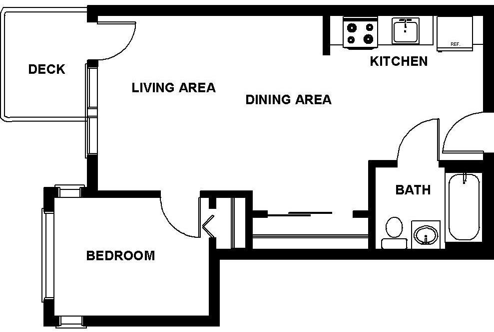 $2726 One bedroom Apartment for rent