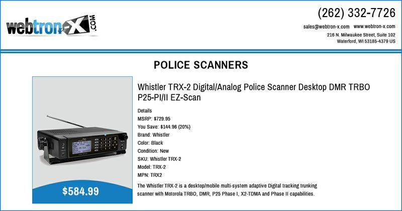 P25 Trunking Scanner