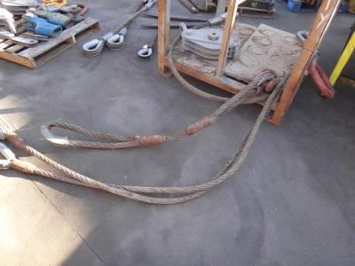 LIFTING CABLE & PULLEYS