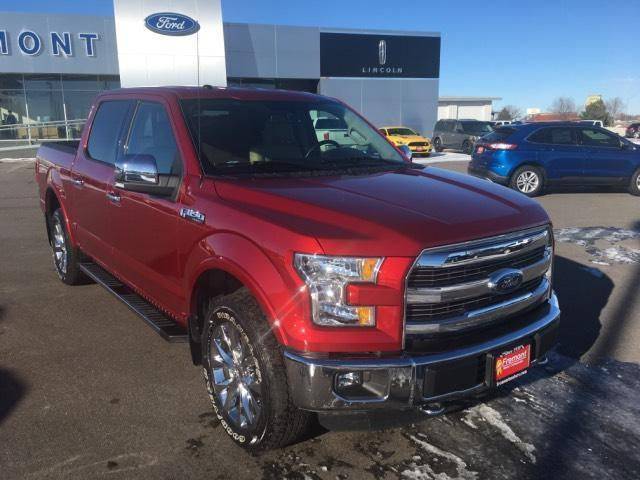Ford F-150 4WD SuperCrew 145 Lariat 2016