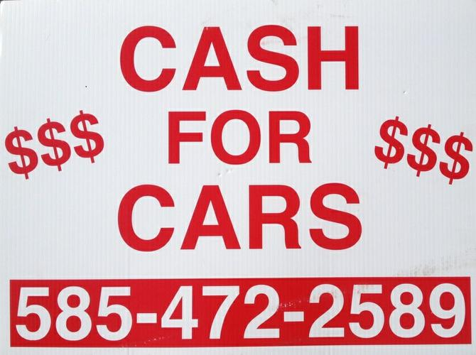 fFREE TOWING AND $100 TO $5000 CASH FOR UNWANTED AND JUNK CARS AND TRUCKS 585-472-2589