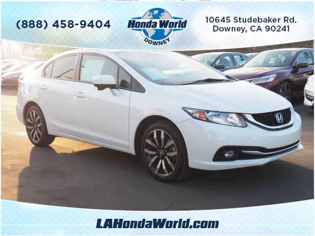 Honda Civic Sedan EX-L 2015
