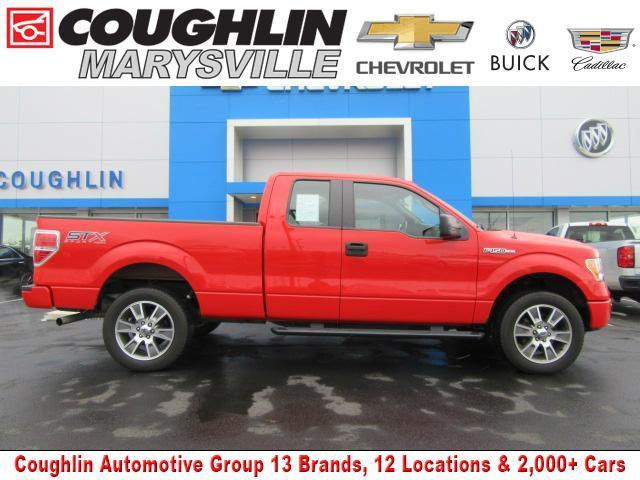 Ford F-150 4WD SuperCab 145
