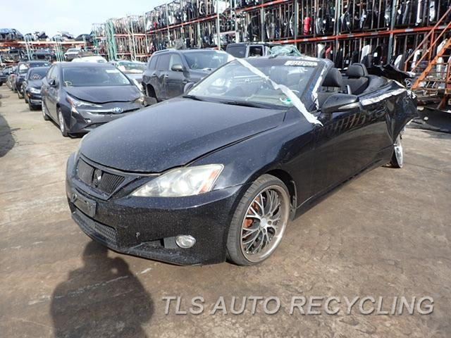 Used Parts for Lexus IS250 - 2010 - 901.LE1J10 - Stock# 8030BL
