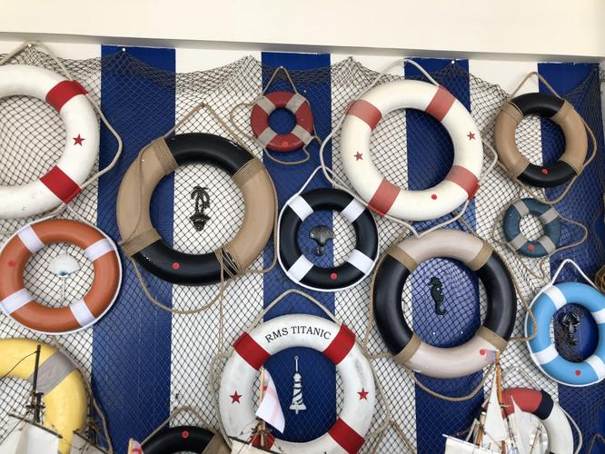 Decorative Life Rings on Sale at Hampton Nautical!