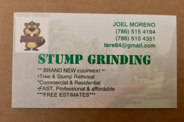 Stump grinding, tree trimming and removal, and Landscaping service