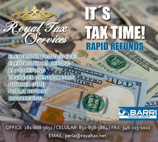 We do your taxes! (Houston)