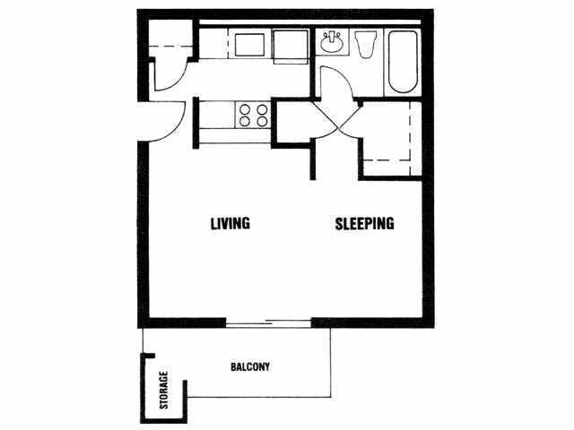 $475 One bedroom Apartment for rent