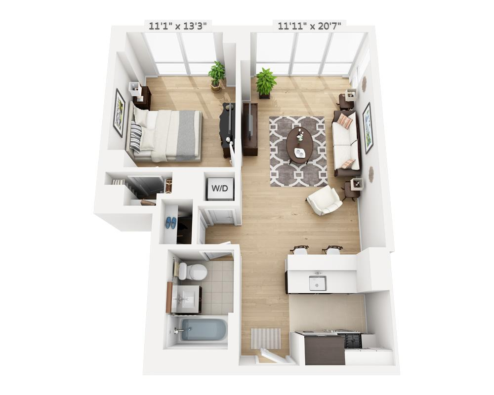$3820 One bedroom Apartment for rent