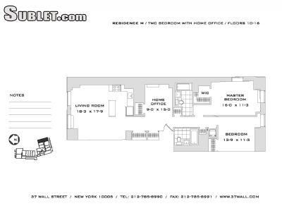 $6095 Two bedroom Apartment for rent