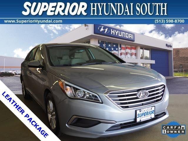 Hyundai Sonata SE Leather Package 2016